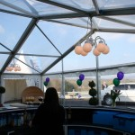 Panoramic Marquee Wedding Fayre