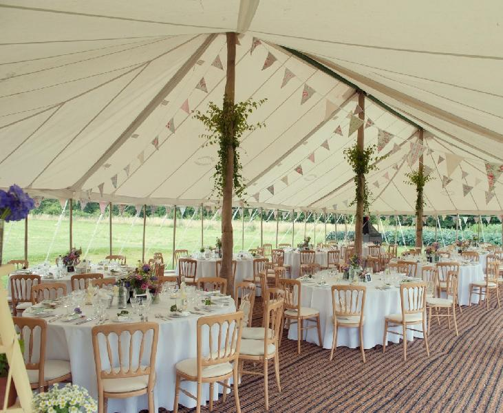 Traditional Marquee Hire Burgoynes Marquees