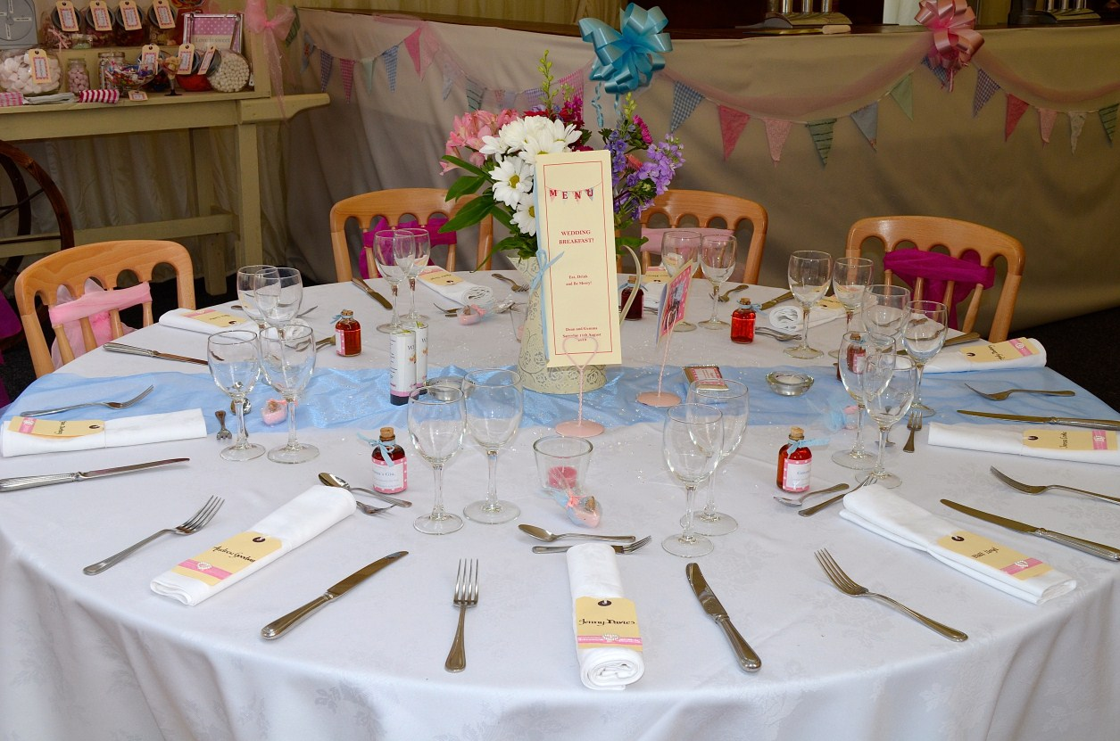 Decorated Wedding Tables Guests Photograph | Table decorated