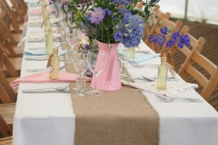 Clothed Banqueting Table