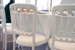 White Banqueting Chairs