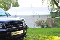 Land Rover and Marquee