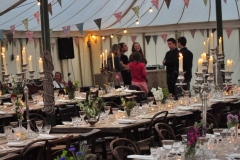 Party in Hay-on-Wye with a Burgoynes Marquee