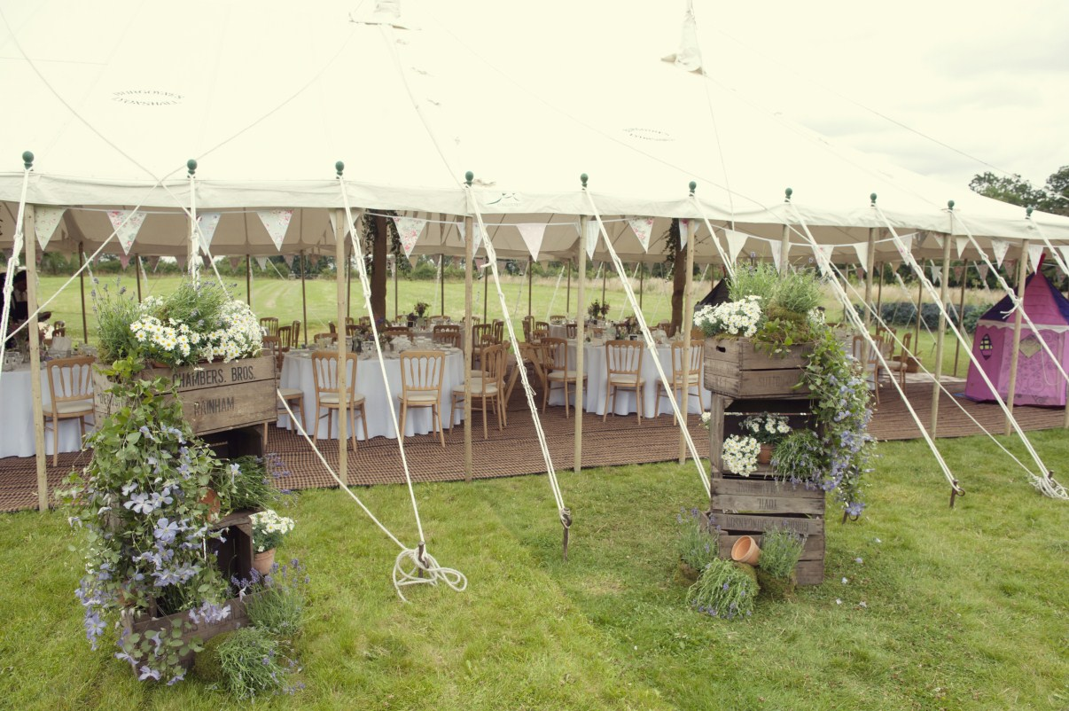 Garden Party Marquee In Cirencester Gloucestershire