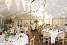 Traditional unlined Marquee