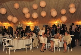 Marquee at Lemore Manor – Paper Lanterns