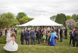 Traditional Marquee – Reception Drinks