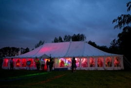 Party in Traditional Marquee