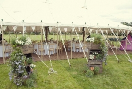 Canopy Only Marquee – Traditional Canvas