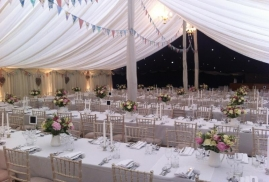 Traditional Marquee, Lined