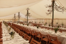 Flat Lining with Traditional Marquee