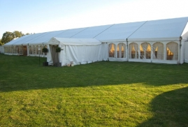 Clearspan Marquee To Hire With Entranceway