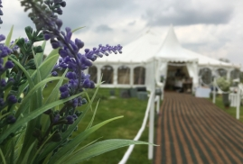 Traditional marquee - walkway