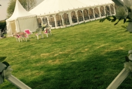 Traditional Marquee at The Watergardens