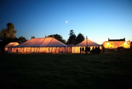 Marquee-To-Hire-Set-Up-For-Party-At-Night