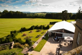Musicians Performing at Marquee Party With Stunning Views