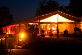 One-Of-Our-For-Hire-Marquees-Being-Used-For-A-Party-At-Night