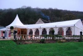 One Of Our Many Marquees For Hire And Rent