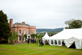 Traditional Marquee at Manor House