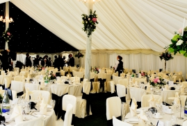 Fully Lined Traditional Marquee