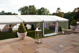 Clearspan party Marquee