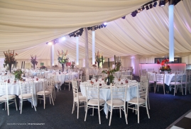 Modern Take on Traditional Marquee