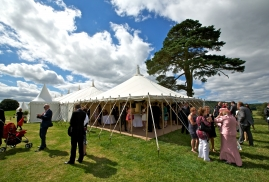 Reception Traditional Marquee