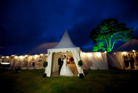 Traditional Marquee with Pagoda Entrance