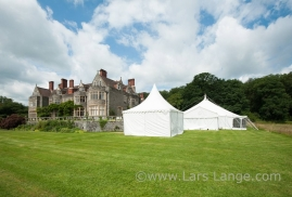 Traditional Marquee in Country House Grounds