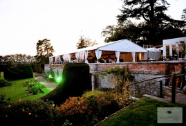 Clearspan Marquee at Burton Court
