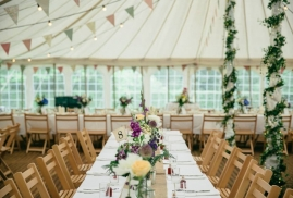Covered Banqueting Tables
