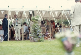 Unlined Traditional Marquee