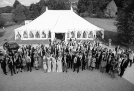 Arial of Traditional Marquee