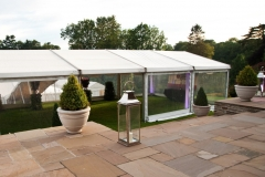 Party to remember Pudlestone Herefordshire marquee ready for party people and guests