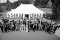 Just-married-outside-our-marquee
