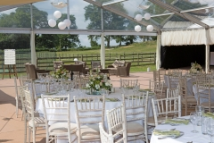 Wedding under a marquee July 2013