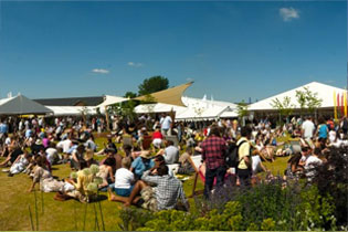 Festivals with Burgoynes Marquees