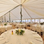Herefordshire marquee wedding in April 2013