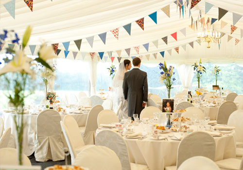 Amazing Wedding Marquee Interior