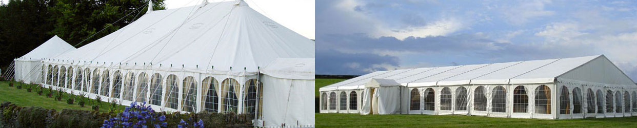Clearspan and Traditional marquee offerings