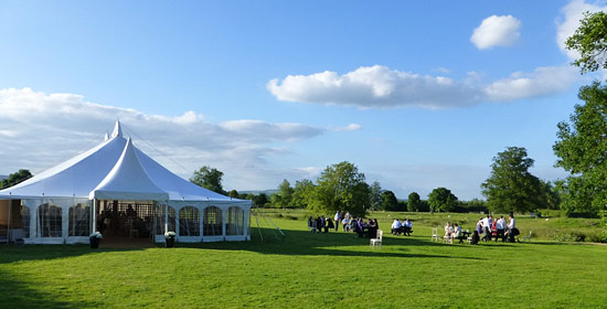 Westonbury Mill Wedding Marquee